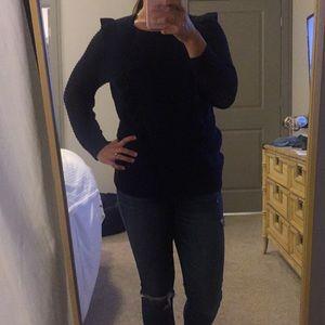 Navy Blue Loft Sweater